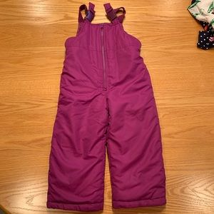 NWOT 3T Girls snow ski pants